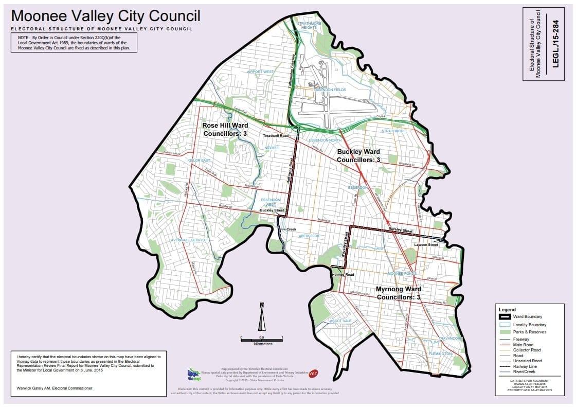 MVCC Ward Map
