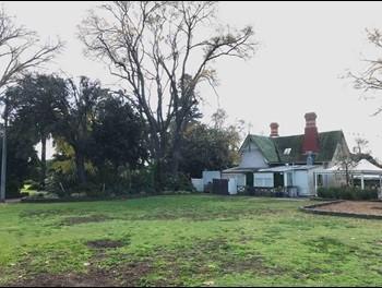 Queens Park Parklands near the cottage