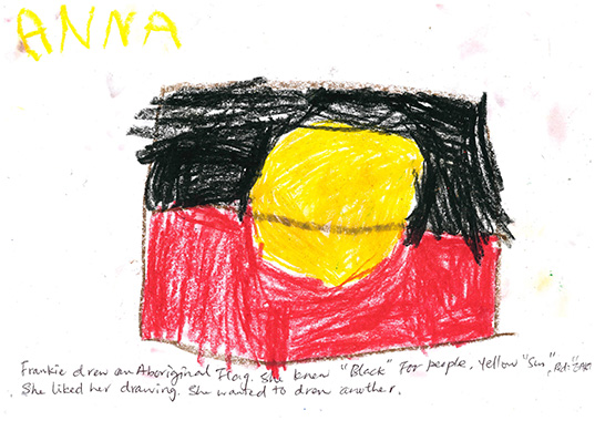 NAIDOC Aboriginal flag CK