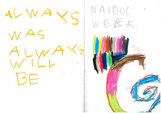 Naidoc week poster CK