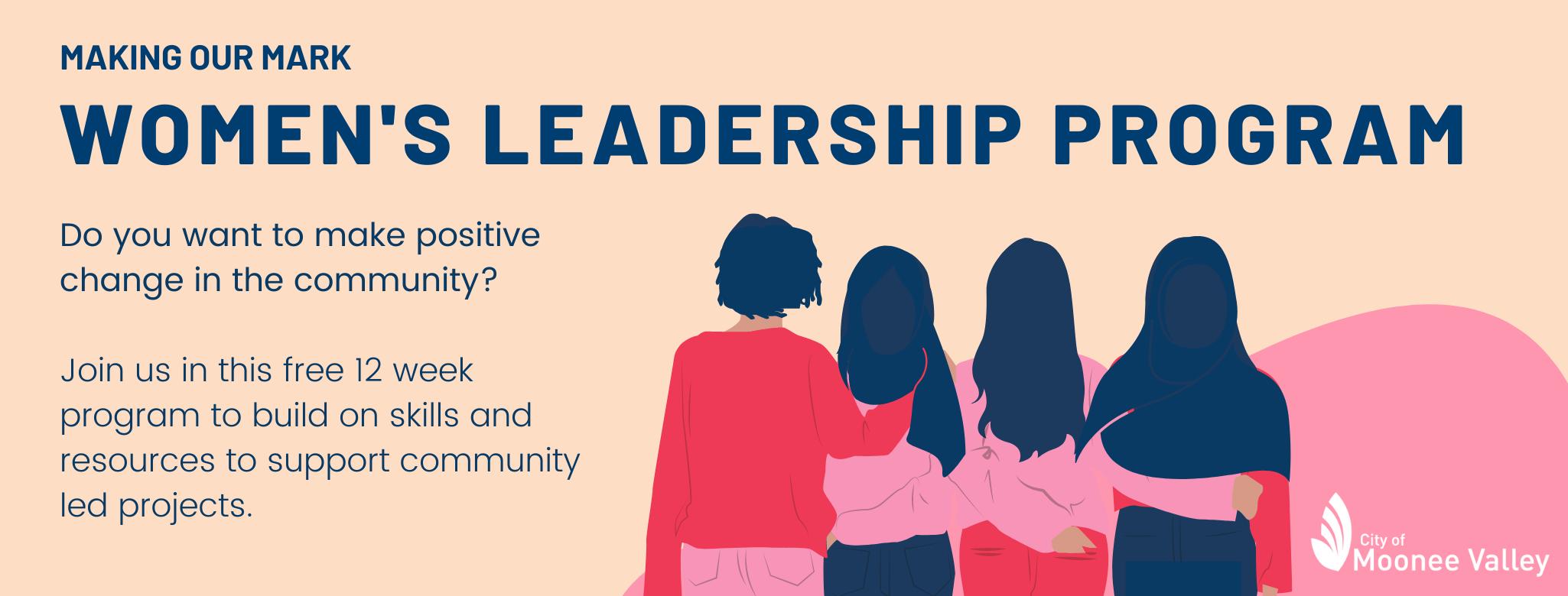 Womens Leadership Program Header for website EOI