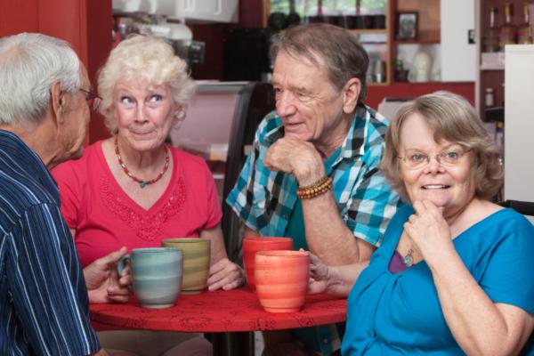 Seniors group mugs