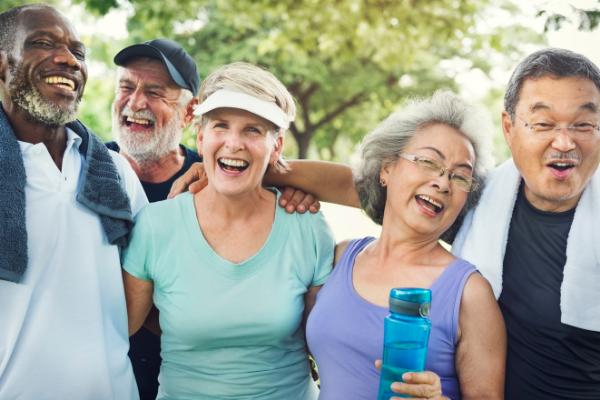 Seniors healthy ageing