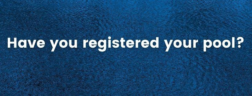register pool notice