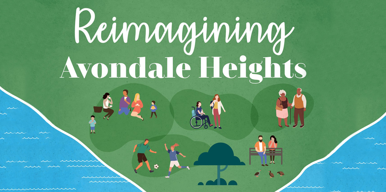 Remimagining Avondale Heights Banner 1