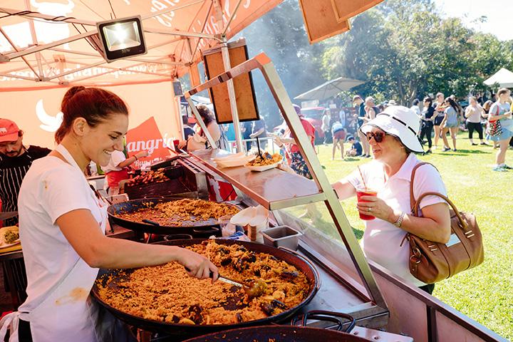 Moonee Valley Summer Events Food Vendor