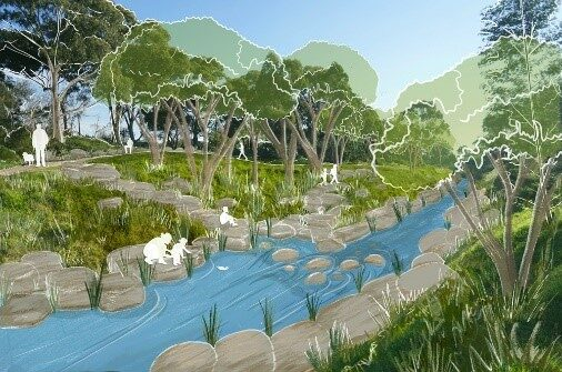 Moonee ponds creek