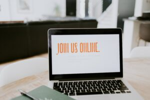 online laptop message