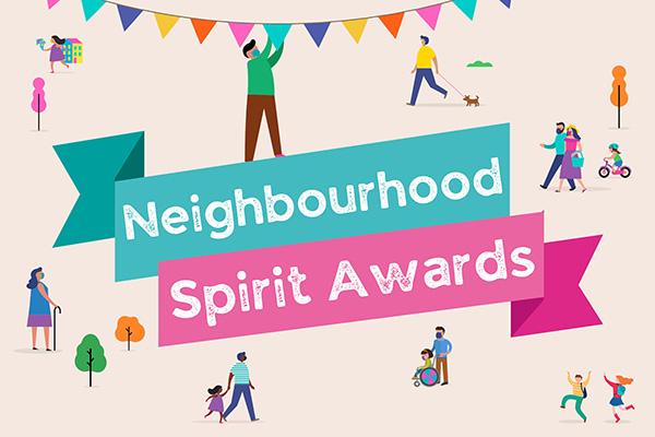 Graphic Design Neighbourhood Spirit Awards 2021