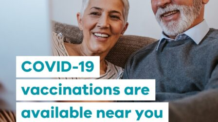 Get a COVID 19 vaccine at Bowes Avenue Community Hall