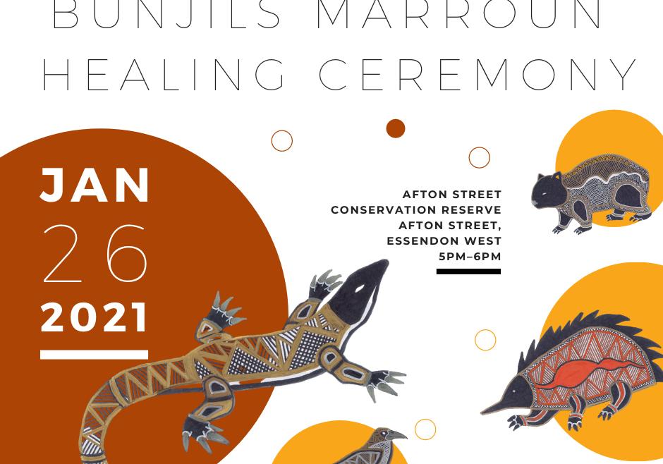 Bunjils Marroun Healing Ceremony