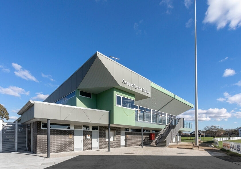 Overland Reserve Pavilion Development Planning Reserve Budget Showcase