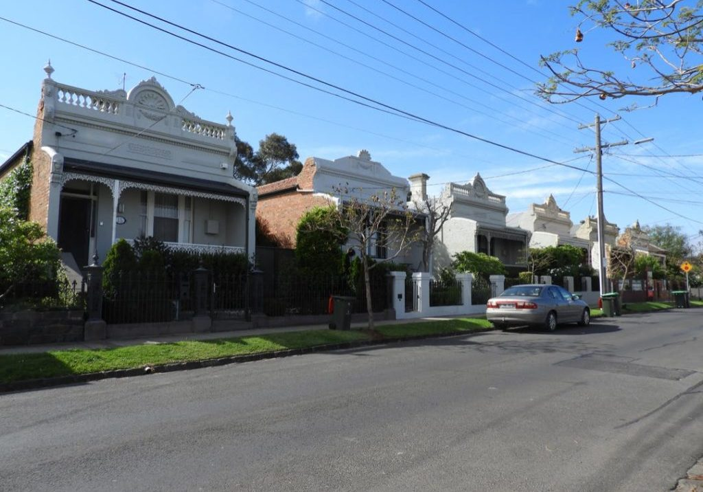 View of houses in Robb Street
