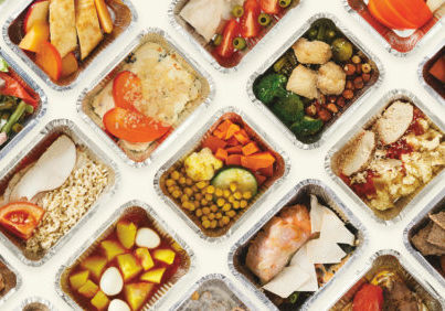 Image of pre-made meals